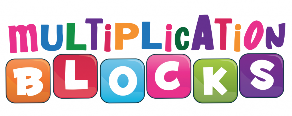Multiplication Blocks Logo